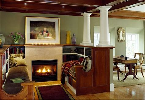 Fireplace Nook 17 cozy reading nooks design ideas