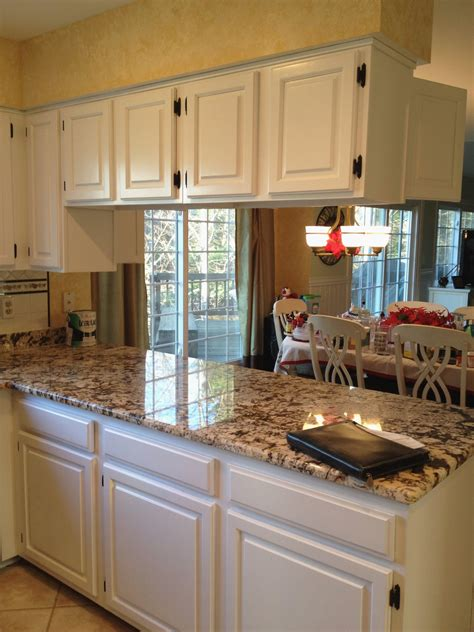 kitchen cabinet granite countertop combinations awesome