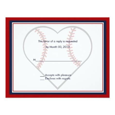 Baseball Wedding Invites by 308 Best Sports Wedding Invitations Images On