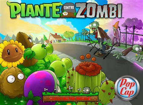 fiori contro zombi il gioco verde e gratis per l estate quot piante contro