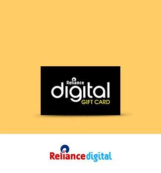 Reliance Digital Gift Card - gift cards vouchers online buy gift vouchers e gift cards online in india