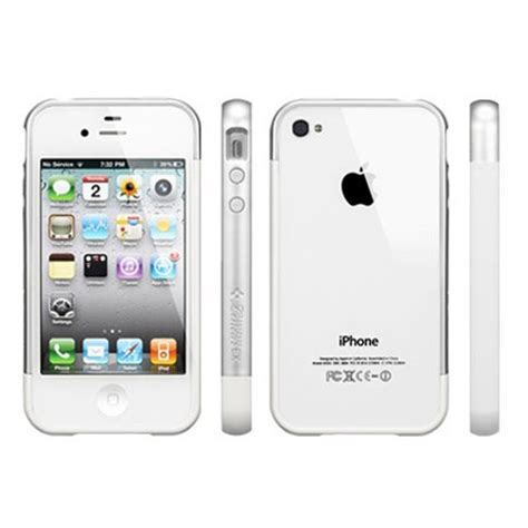 spigen iphone 4 4s silver spigen iphone 4 4s linear ex meteor series clear