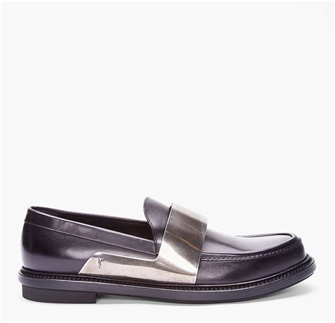ysl mens loafers yves laurent brass bar loafers