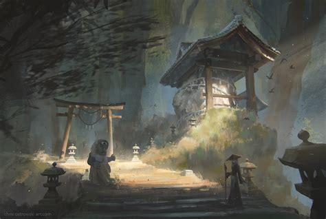 shrine   colonies  najtkriss  deviantart