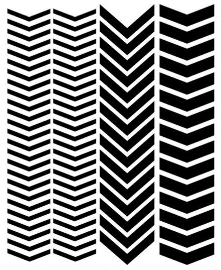 Nail Vinyl Stencil Sticker Stiker Nail Chevron Water Marble vinyl nail stencils single chevron variety 80 cricut vinyls products and