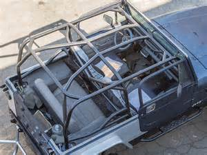 Jeep Tj Cage Yj Roll Cage Kit Genright Jeep Parts