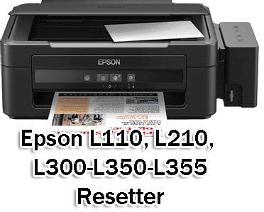 how can reset epson l210 printer epson l110 l210 l300 l350 l355 service required