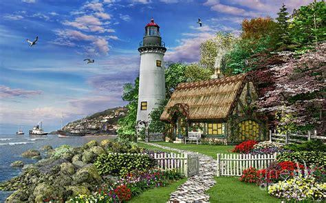 sea cottage digital by dominic davison