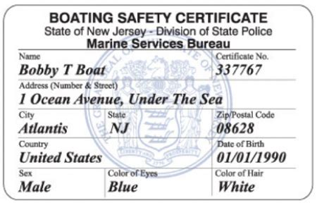 nj boating safety certificate online boating safety certificate frequently asked questions