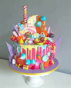 southern blue celebrations shopkins cakes