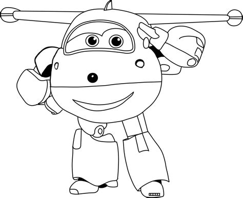 Super Jet Coloring Pages | free printable super wings coloring pages