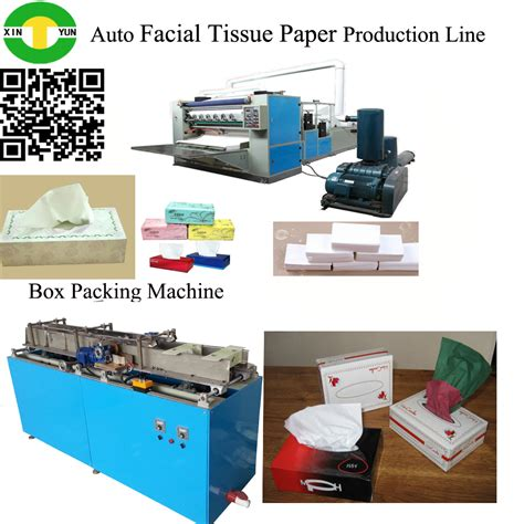 Tissue Paper Folding Machine - paper folding embossing cutting machine view