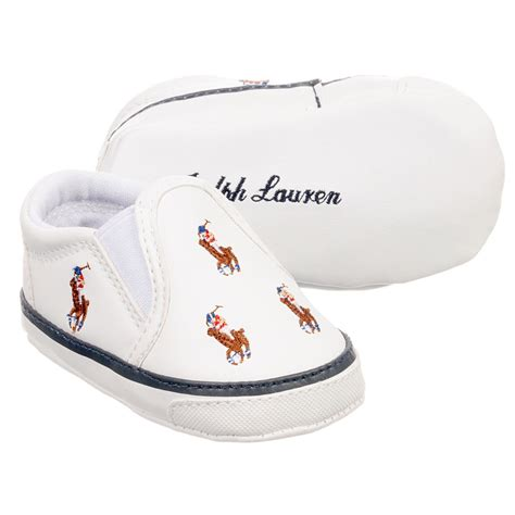 polo prewalker shoes ralph white pre walker shoes childrensalon