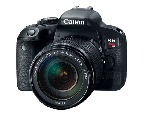 canon eos rebel canon eos rebel t7i and eos 77d dslr cameras unveiled