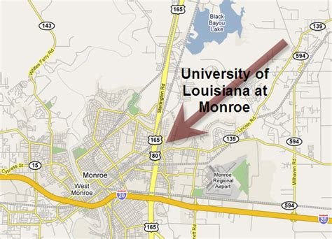 louisiana edu map maps region 3 science olympiad competition site