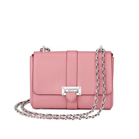 Other Designers Purse Deal Calvin Klein Textured Calf Shoulder Tote by Aspinal Of S Lottie Bag Dusky Pink
