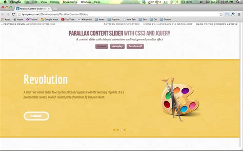 tutorial scrolling website 10 awesome parallax scrolling tutorials with code devzum