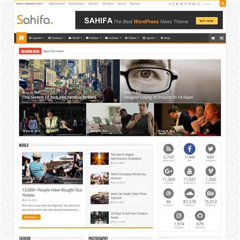 sahifa theme plugins 50 best buddypress themes 2018 for social community sites
