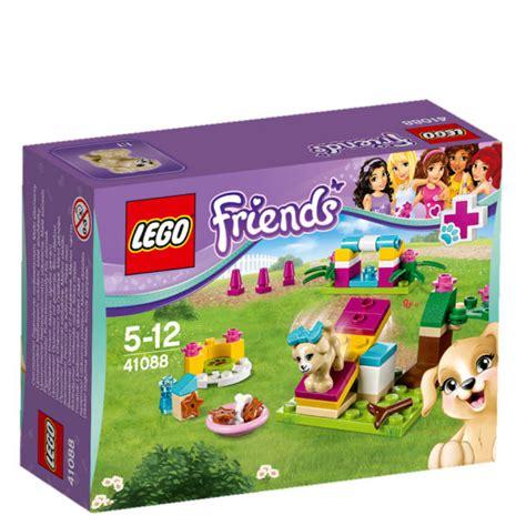 lego friends puppy lego friends puppy 41088 toys zavvi