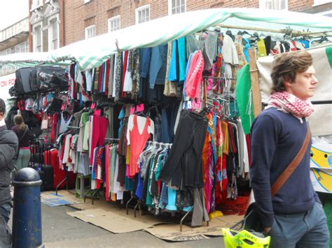 In The Fashion Marketplace by Brixton Market