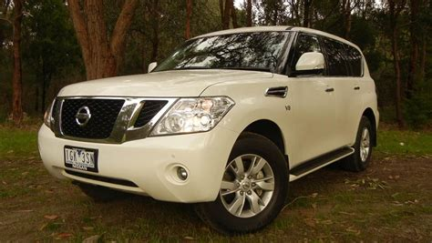 nissan patrol 2016 white y62 nissan patrol ti 2016 review road test carsguide