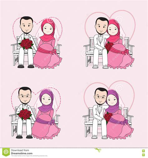 Animasi Wedding Muslim by Pics For Gt Wedding With