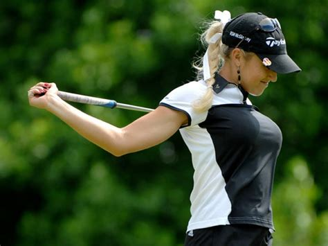 asian golf swing natalie gulbis in body paint youtube