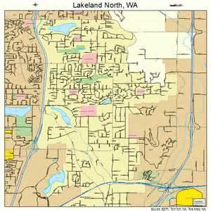 lakeland washington map 5337420