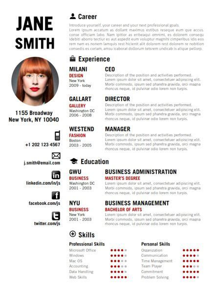 20 Best Creative Resume Templates Exles Fashion Cv On