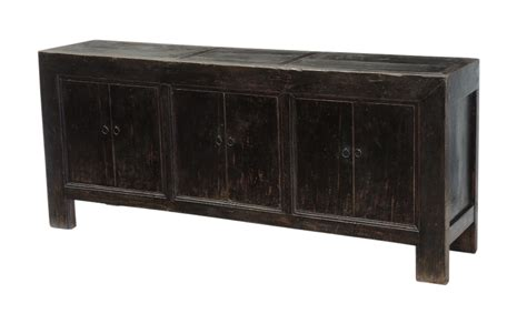 black sideboard buffet media center cabinet custom