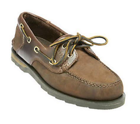 clarks mens falcon leather boat shoe qvc