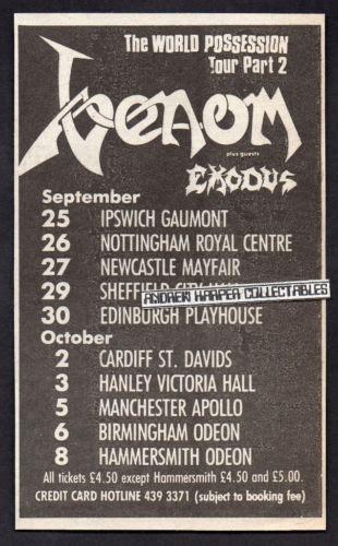 Kaos Exodus Band Metal Ex 04 exodus