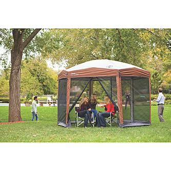 Coleman Instant Up Screen House With Awnings by Coleman 12 X 10 Instant Screened Canopy