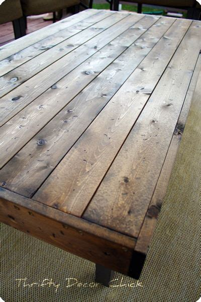 Diy Wood Patio Table Diy Wood Coffee Table Top Woodworking Projects Plans