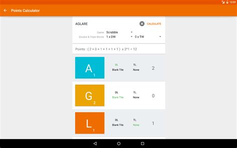 scrabble word point calculator word unscramble android apps on play