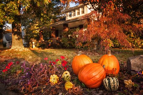 Fall Decorations For Outside The Home fall home buyers will notice