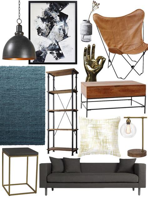industrial look living room create the look warm industrial living room shopping