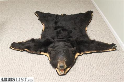 how to skin a black for a rug armslist for sale black skin rug 64