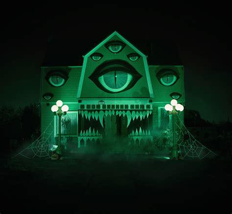 monster house 2 artist transforms parent s house into a monster technabob