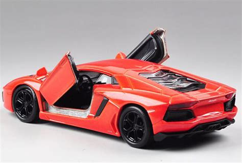 Welly Lamborghini Aventador Orange 1 36 welly purple orange diecast lamborghini aventador