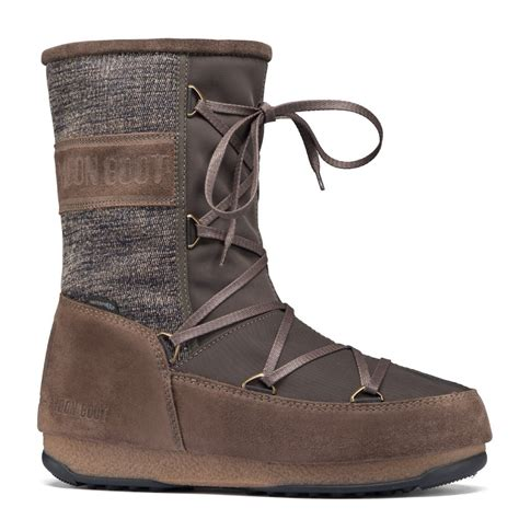 olive green boots moonboot moon boots vienna mix olive green waterproof