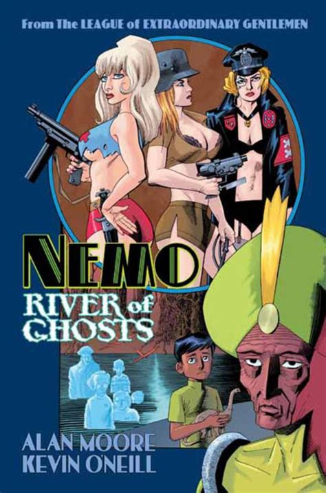 libro nemo river of ghosts first look at alan moore kevin o neill s nemo river of ghosts cover comics news digital spy