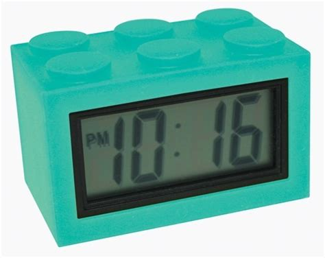 Alarm Silicon time brick silicone digital alarm arid zone