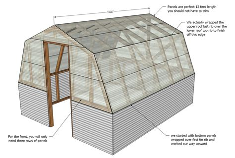 greenhouse plans ana white barn greenhouse diy projects