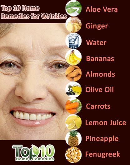 home remedies for wrinkles top 10 home remedies
