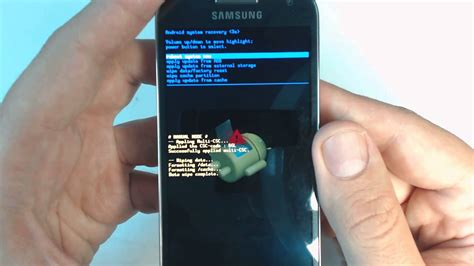 reset hard samsung galaxy s samsung galaxy s4 mini i9195 hard reset youtube
