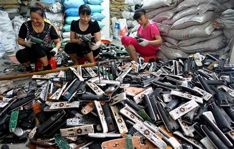 children electronic waste china chinese capital of recycling electronic waste is booming