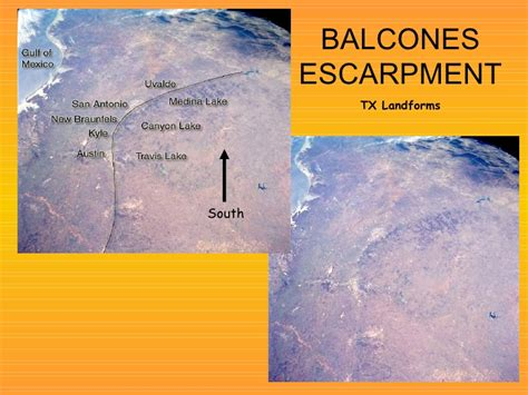 caprock escarpment texas map caprock and balcones escarpments