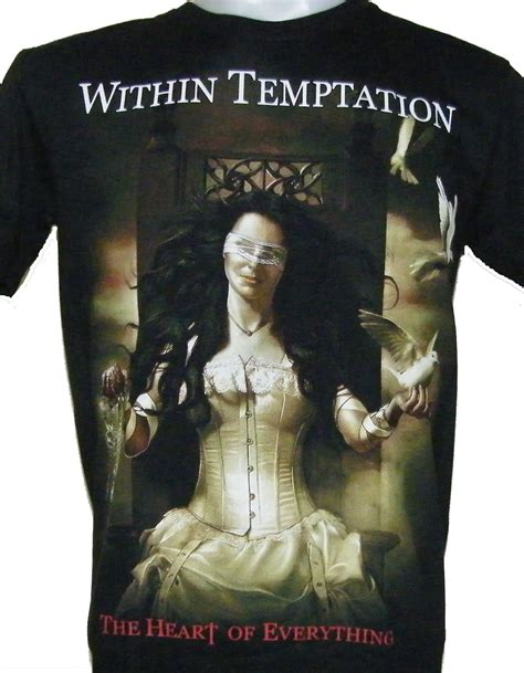 Within Temptation Tshirt within temptation t shirt the of everything size