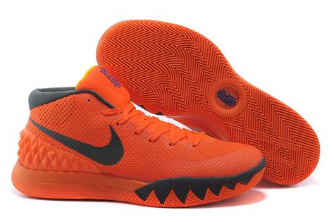 orange black basketball shoes 2015 authentic nike kyrie 1 shoes on cheap sale